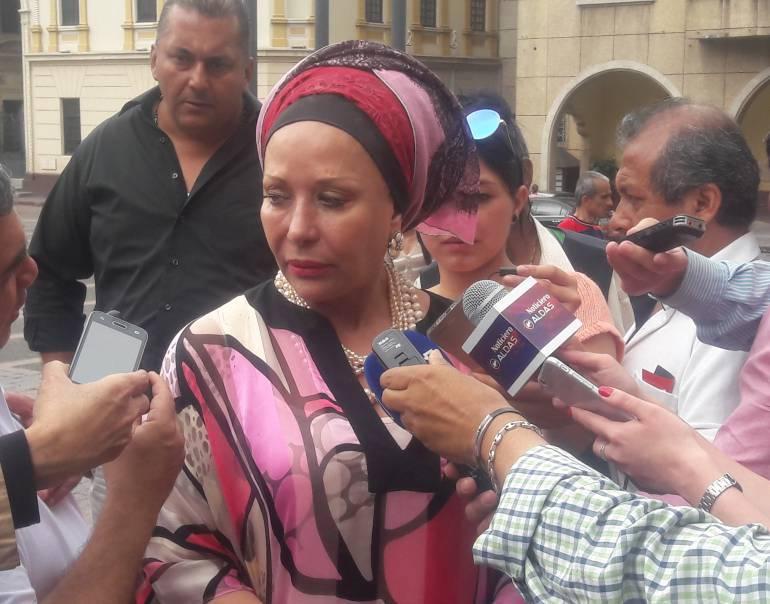Piedad córdoba y agresiones a Timoshenko: Agresiones a Timochenko son por falta de pedagogía: Piedad Córdoba