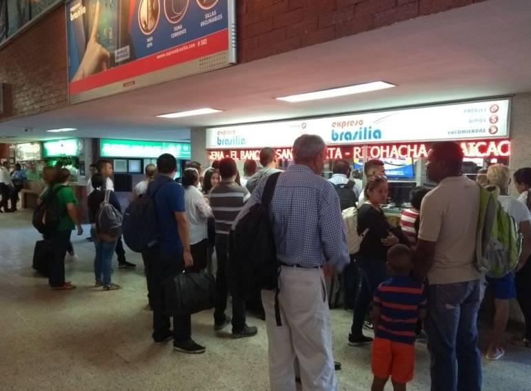 Disminuye 50% los pasajeros en terminal de Barranquilla durante Carnaval