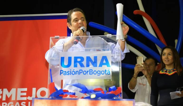 Elecciones presidenciales: Vargas Lleras se compromete a mejorar la seguridad y movilidad en Bogotá
