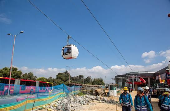 Inician primeras pruebas de las cabinas del Transmicable en Ciudad Bolívar