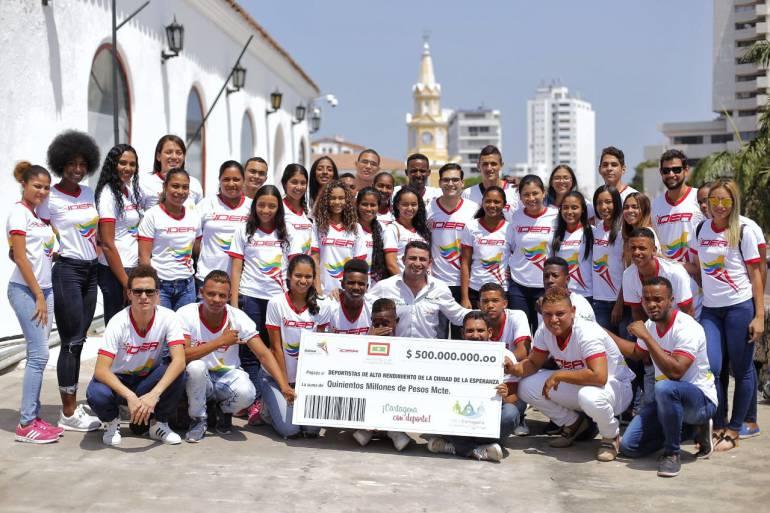 500 millones de pesos para deportistas de alto rendimiento de Cartagena: 500 millones de pesos para deportistas de alto rendimiento de Cartagena