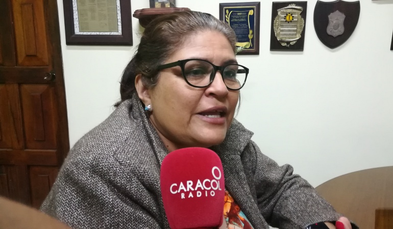Isabel Castillo Zambrano presidenta de la Cámara de Comercio de San Antonio del Táchira