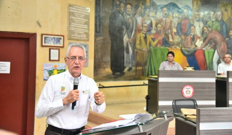 Guillermo Alfonso Jaramillo, alcalde de Ibagué