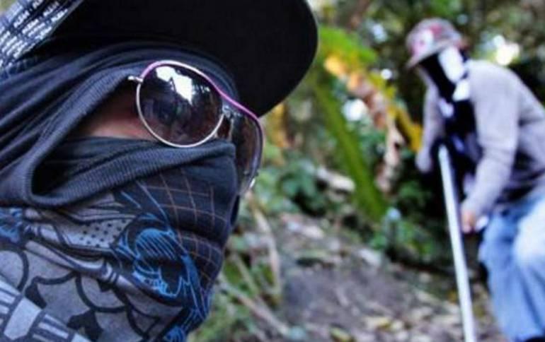 Aumenta alerta en el bajo Cauca por guerra entre criminales