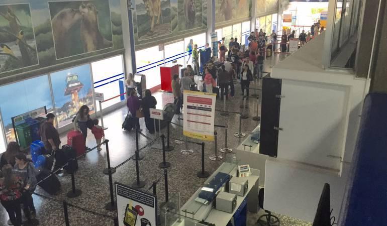 Policía investiga las causas del arribo de ciudadanos mexicanos a Pereira
