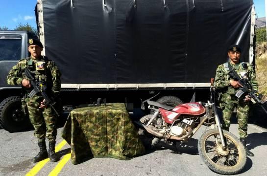 Identifican al guerrillero del ELN que murió en combates en Boyacá: Identifican al guerrillero del ELN que murió en combates en Boyacá