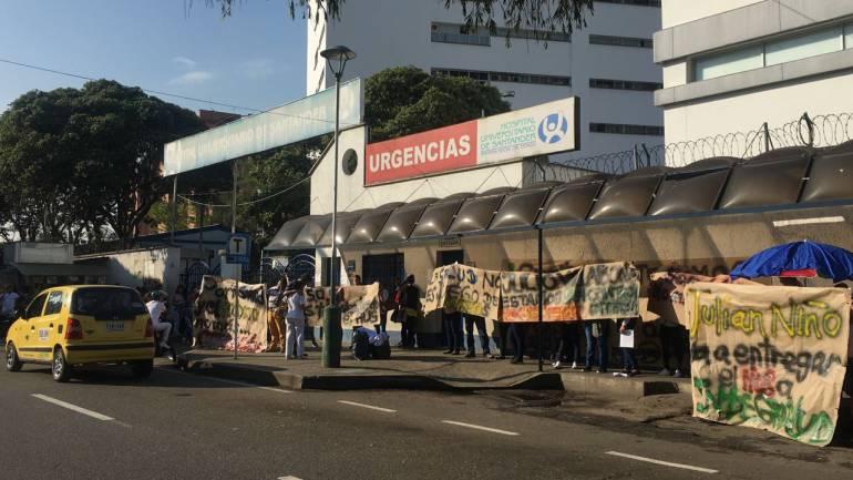 Hospital Universitario de Santander solo está atendiendo urgencias vitales: Hospital Universitario de Santander solo está atendiendo urgencias vitales