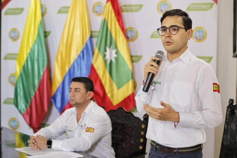 Alcalde (e) de Cartagena responde a Funcicar críticas sobre Edurbe: Alcalde (e) de Cartagena responde a Funcicar críticas sobre Edurbe