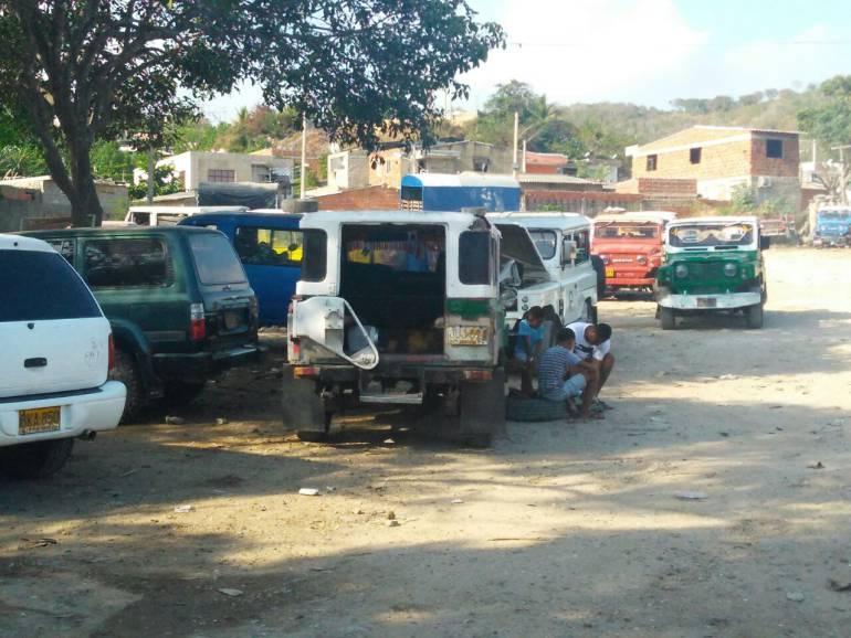 125 carros inmovilizados por transporte informal en Cartagena: 125 carros inmovilizados por transporte informal en Cartagena