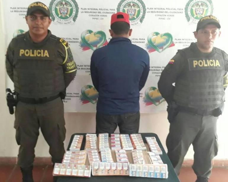 Capturan a distribuidor de chance ilegal en vías de Bolívar: Capturan a distribuidor de chance ilegal en vías de Bolívar