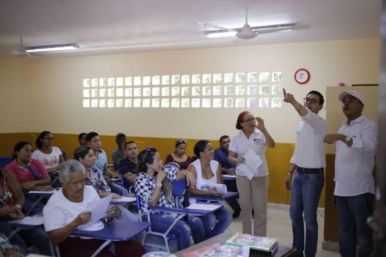 Obras en instituciones educativas de Cartagena tienen 95% de avance: Obras en instituciones educativas de Cartagena tienen 95% de avance