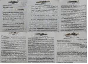 Documento de denuncia contra directora de planeación municipal