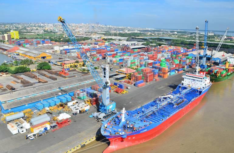 Fuertes vientos restringen hasta 12 horas el puerto de Barranquilla