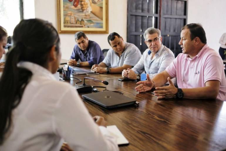 Comerciantes del Mercado de Cartagena presentan plan de recuperación: Comerciantes del Mercado de Cartagena presentan plan de recuperación
