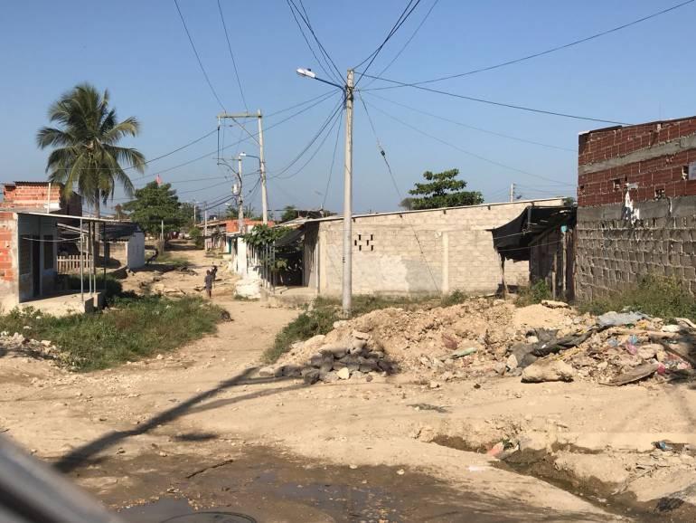 Barrio Villa Rosa de Cartagena, 35 años sin alcantarillado ni pavimento: Barrio Villa Rosa de Cartagena, 35 años sin alcantarillado ni pavimento