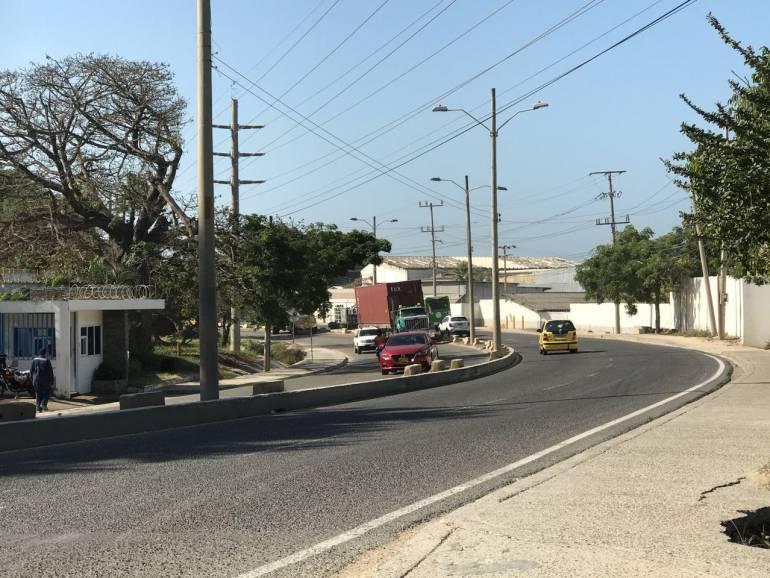 Habitantes de Albornoz, en Cartagena, exigen seguridad para los peatones: Habitantes de Albornoz, en Cartagena, exigen seguridad para los peatones