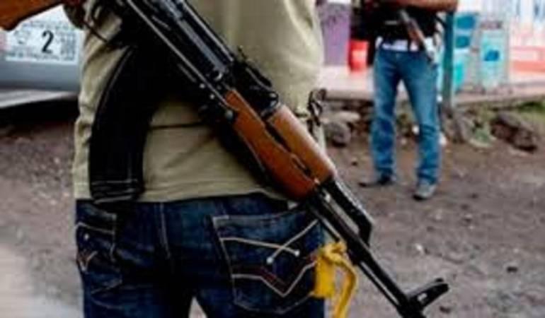 Hombres armados mantienen su accionar delictivo en la zona de frontera.