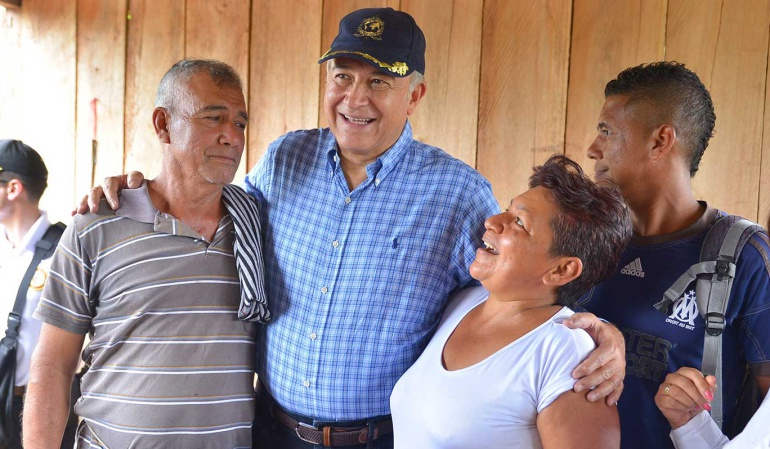 Vicepresidente Oscar Naranjo