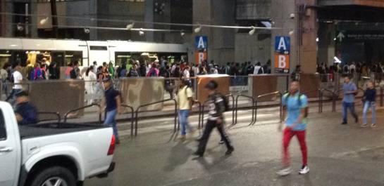 Problemas metro: Normaliza la operación de la Línea A en el Metro de Medellín