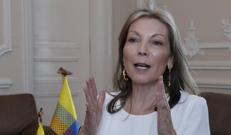 María Clemencia Rodríguez de Santos, Primera Dama de Colombia.