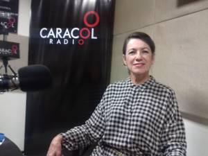María Nubia Rodas Aristizabal directora de Milonga Pasional estuvo en los estudios de Caracol Radio