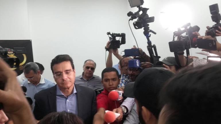 Rector de la Uniatónoma, Ramsés Vargas.