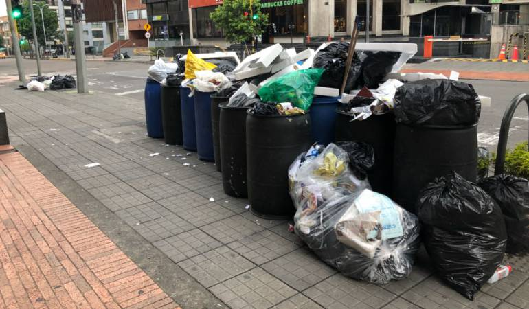 Basura en Bogotá