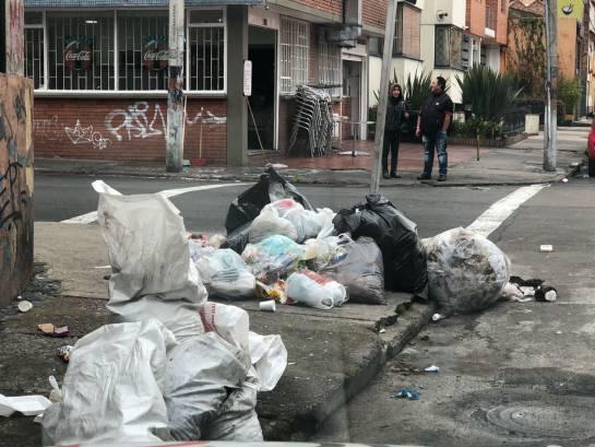Quejas de basura en Bogotá: Persisten quejas por basuras en cuatro localidades de Bogotá