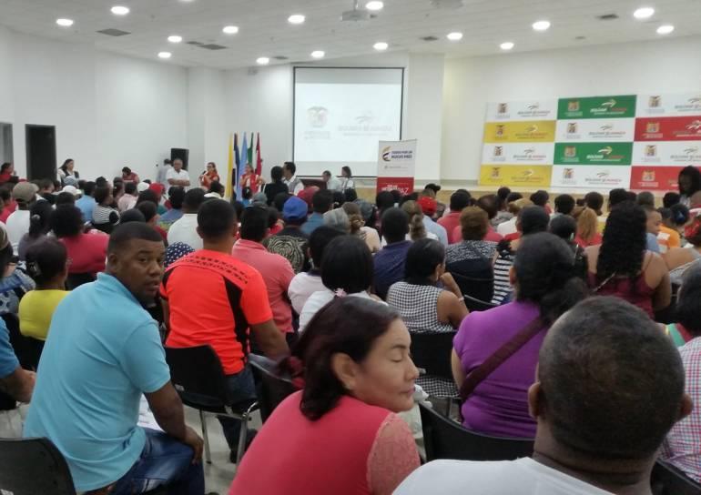 Unidad para las Víctimas realizó jornada de indemnización en Cartagena