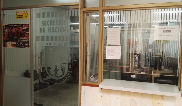 Oficinas de la secretaria de hacienda de Cúcuta