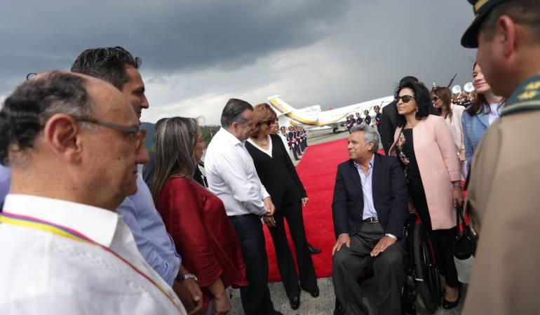 Hoy se reúnen los presidentes de Colombia y Ecuador en Pereira