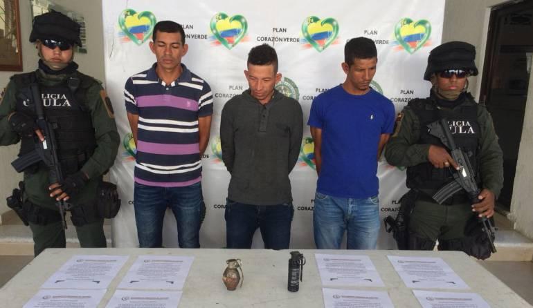 Capturan otros tres supuestos miembros del Clan del Golfo en Sucre