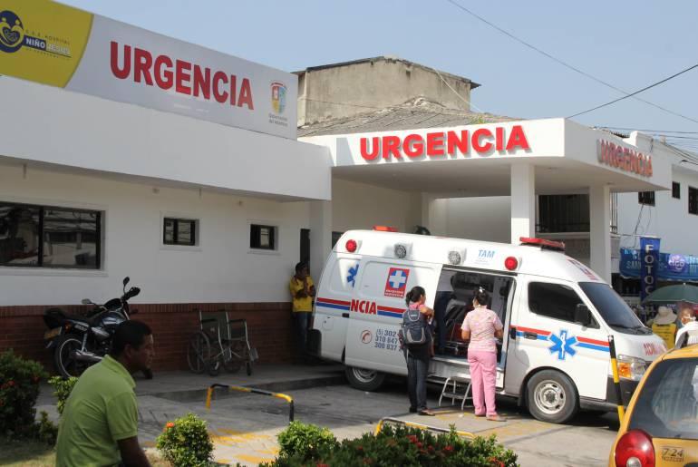 Niños venezolanos hospitalizados por desnutrición en Barranquilla