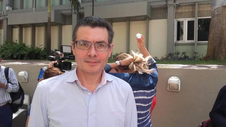 Ministro de Salud, Alejandro Gaviria.