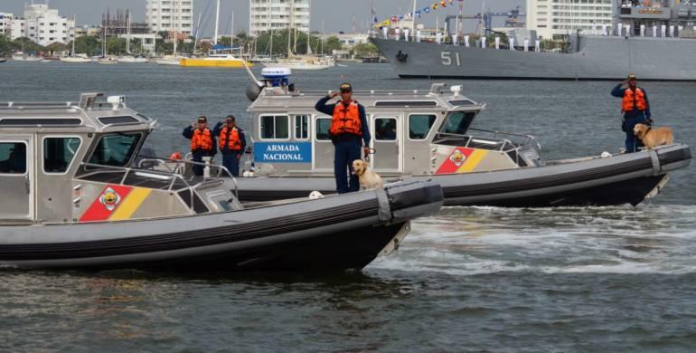 Guardacostas continúa búsqueda de cinco pescadores en Cartagena