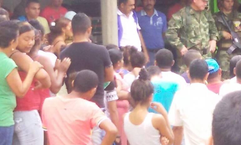 Aumenta las personas desplazadas en Cáceres, Antioquia