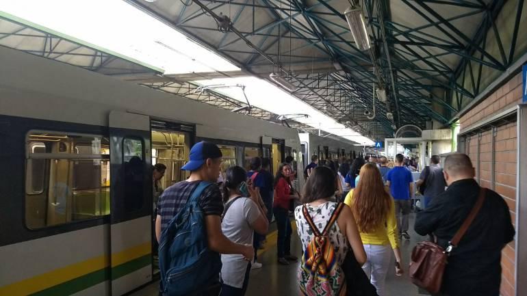 Nueva interrupción en el servicio del Metro de Medellín