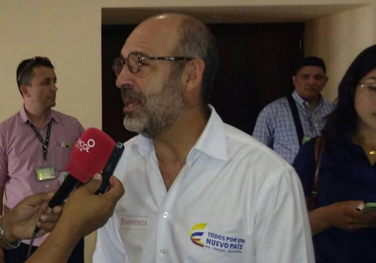 Camilo Sánchez Ortega, Ministro de Vivienda, Ciudad y Territorio. /FOTO CARACOL RADIO