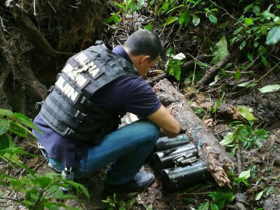 Frustran atentado en Boyacá: Neutralizan atentado con explosivos del Eln en la vía Sogamoso-Yopal