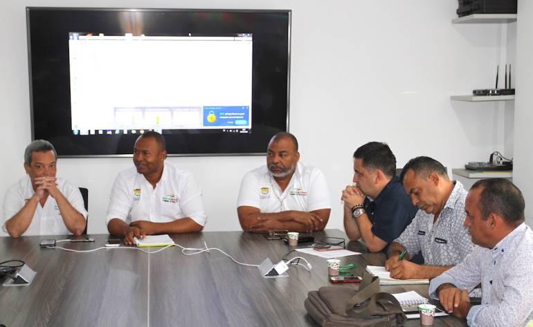 Adelantan mesa técnica con rectores de la Mojana bolivarense en Magangué