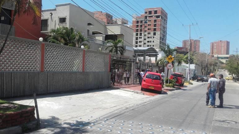 Atentado norte de Barranquilla.