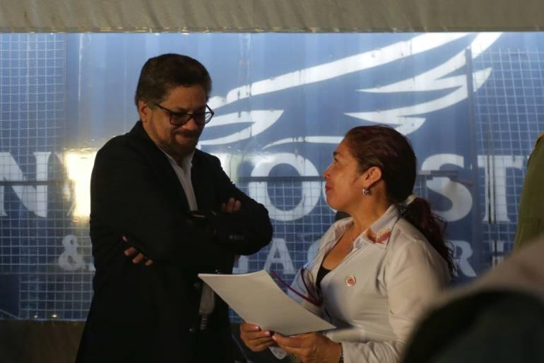 Iván Márquez, candidato al senado de la república.