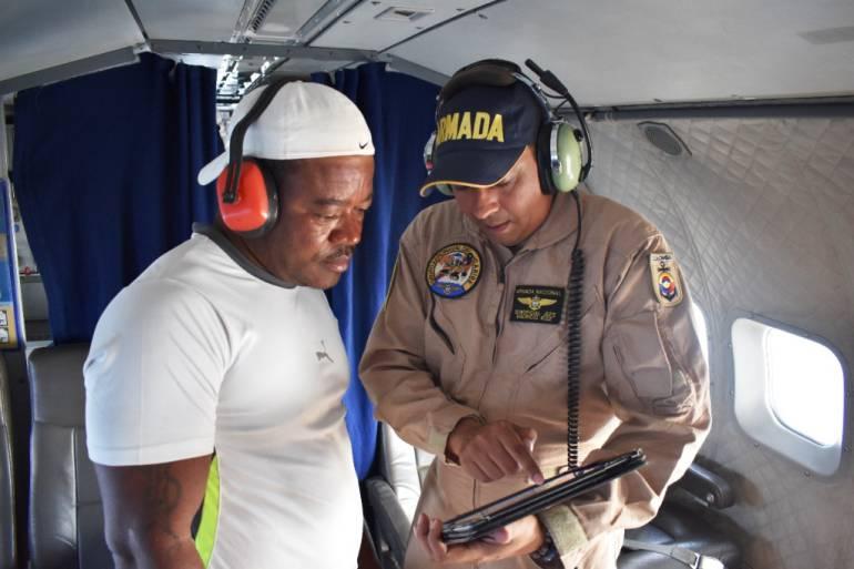 Armada Nacional intensifica operaciones de búsqueda de pescadores: Armada Nacional intensifica operaciones de búsqueda de pescadores