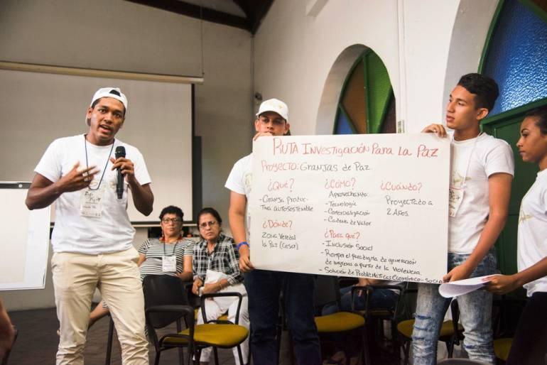 Mayor de Bolívar, única institución con enfoque de paz avalado por Unesco: Mayor de Bolívar, única institución con enfoque de paz avalado por Unesco