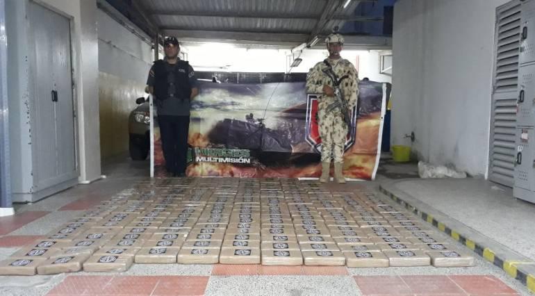 Incautan 200.000 dosis de cocaína en La Guajira