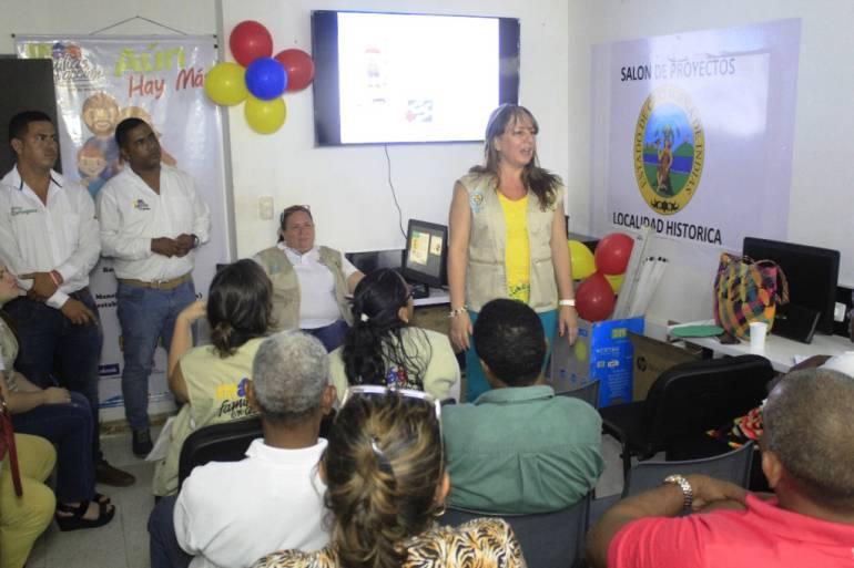 Más Familias en Acción socializa en la tres localidades de Cartagena: Más Familias en Acción socializa en la tres localidades de Cartagena