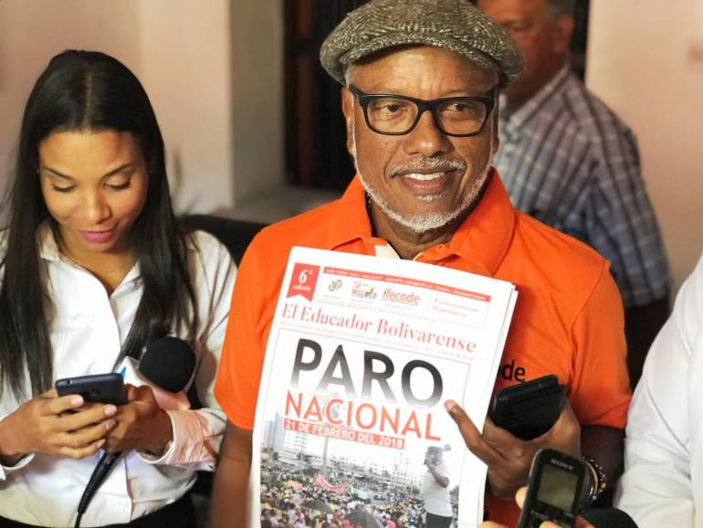 Docentes de Bolívar se vinculan al paro nacional convocado por Fecode: Docentes de Bolívar se vinculan al paro nacional convocado por Fecode