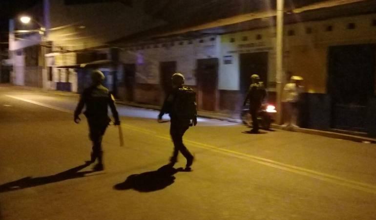 Disturbios en Espinal