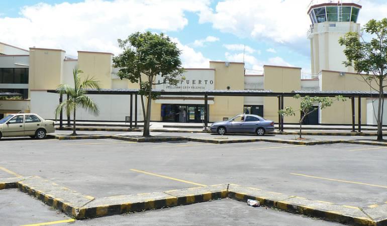 Aeropuerto Guillermo León Valencia de Popayán.