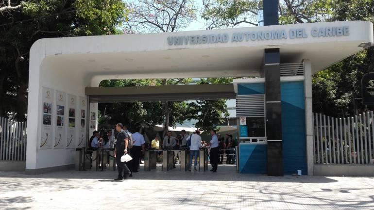 Instalaciones Universidad Autónoma del Caribe, Barranquilla.